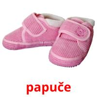 papuče picture flashcards
