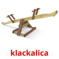 klackalica picture flashcards
