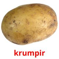 krumpir picture flashcards