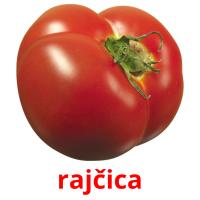 rajčica picture flashcards