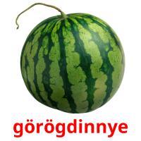 görögdinnye picture flashcards