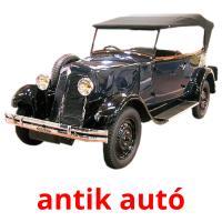 antik autó picture flashcards