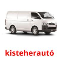 kisteherautó picture flashcards