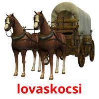lovaskocsi picture flashcards