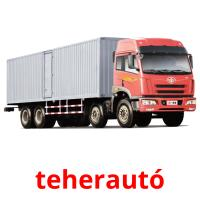 teherautó picture flashcards