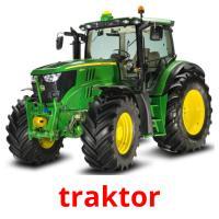 traktor picture flashcards