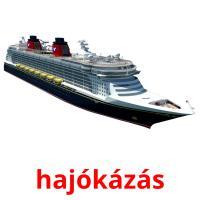 hajókázás picture flashcards
