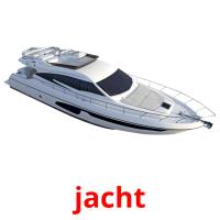 jacht picture flashcards