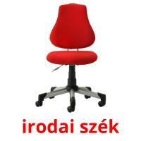 irodai szék picture flashcards