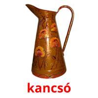 kancsó picture flashcards