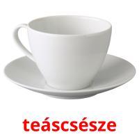 teáscsésze picture flashcards