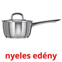 nyeles edény picture flashcards