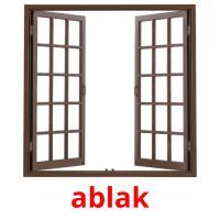 ablak picture flashcards