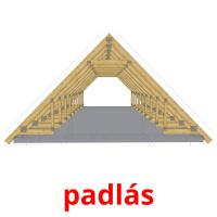 padlás picture flashcards