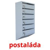 postaláda picture flashcards