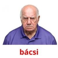 bácsi picture flashcards