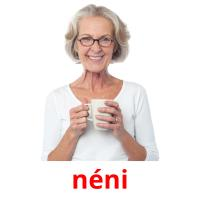 néni picture flashcards