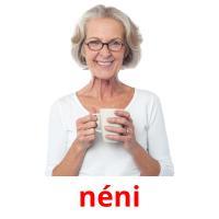néni picture flashcards