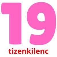tizenkilenc picture flashcards
