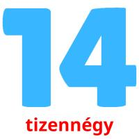 tizennégy picture flashcards