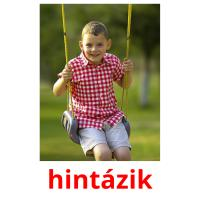 hintázik picture flashcards