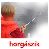 horgászik picture flashcards