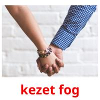 kezet fog picture flashcards