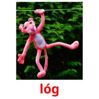 lóg picture flashcards