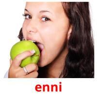 enni picture flashcards