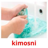 kimosni picture flashcards