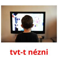 tvt-t nézni picture flashcards