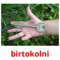 birtokolni picture flashcards