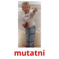 mutatni picture flashcards