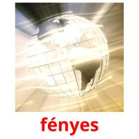 fényes picture flashcards