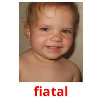 fiatal picture flashcards