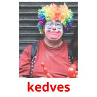 kedves picture flashcards
