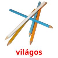 világos picture flashcards