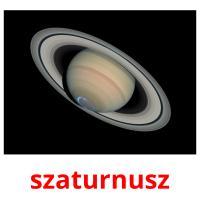 szaturnusz picture flashcards