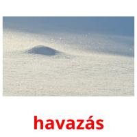 havazás picture flashcards