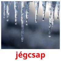jégcsap picture flashcards