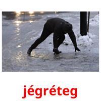 jégréteg picture flashcards