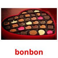 bonbon picture flashcards