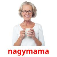 nagymama picture flashcards