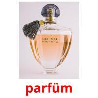 parfüm picture flashcards