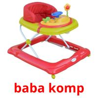 baba komp picture flashcards