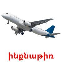 ինքնաթիռ picture flashcards