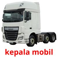 kepala mobil picture flashcards