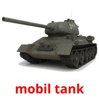 mobil tank picture flashcards