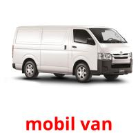 mobil van picture flashcards
