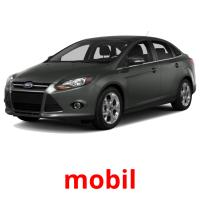 mobil picture flashcards